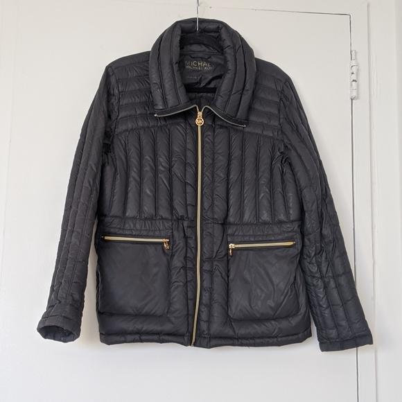 Michael Kors Jackets & Blazers - MICHAEL KORS Packable Down Jacket XL Black